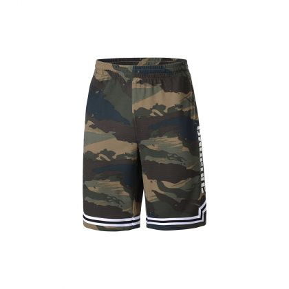 Basketball Culture Male Competition Bottom, Army Green Camoufl Age