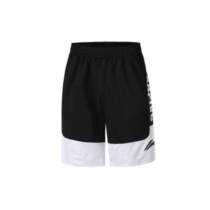 Basketball Culture Male Competition Bottom, Standard Black/Standard White