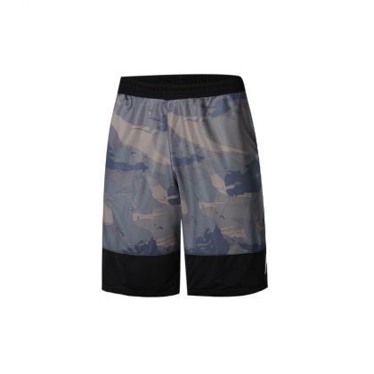 Basketball Culture Male Competition Bottom, Army Green Camouflage/Standard Black