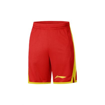 LN Basketball Male Competition Bottom, Bulls Red
