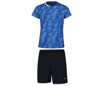 Kids Competition Uniform Suit, Crystal Blue