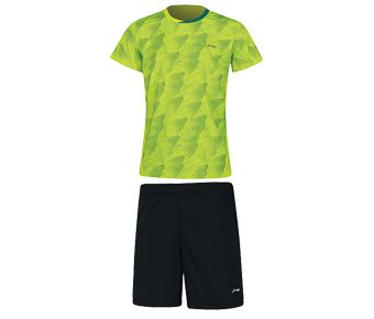 Kids Competition Uniform Suit, Flashing Bright Green