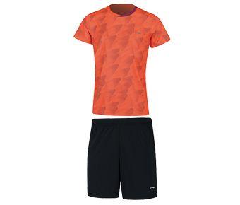 Kids Competition Uniform Suit, Flashing Orange