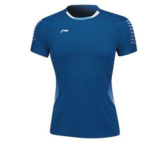 Female Competition Top, Denim Blue