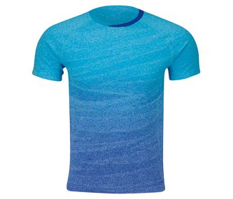 Kids Competition Top, Light Blue/Crystal Blue