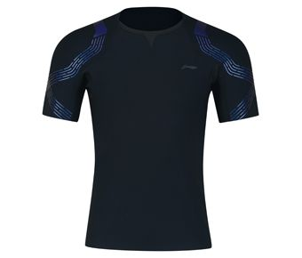 Male Competition Top, Standard Black