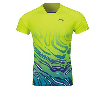 Female Competition Top, Flashing Bright Green