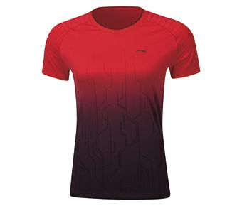 Female Competition Top, Red/Standard Black