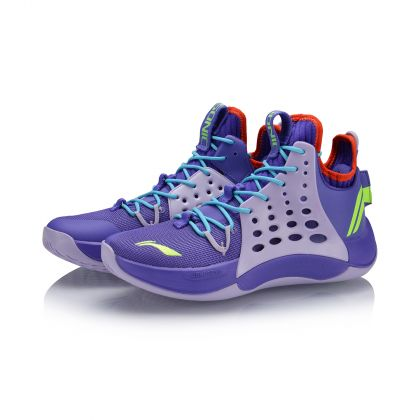 Male Professional Basketball Shoes, Free Purple/Light Purple