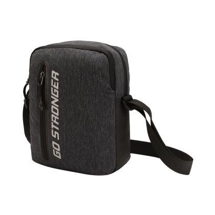 Essentials Unisex Messenger Bag, Black