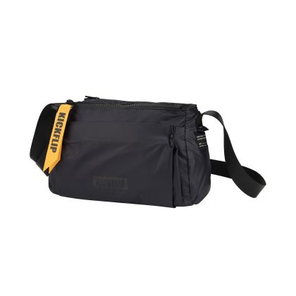 The Trend Unisex Messenger Bag, Blue/Black