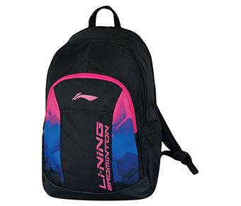 Backpack, Black/Pink Blue