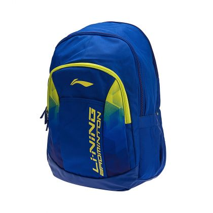 Backpack, Blue/Yellow Green
