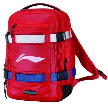 Backpack, Red White