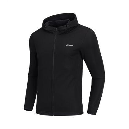 Jogger Male Windbreaker, Standard Black
