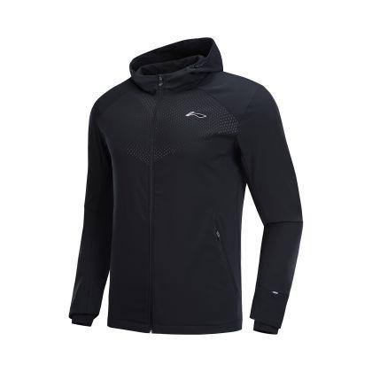 Hobby Runners Male Windbreaker, Standard Black