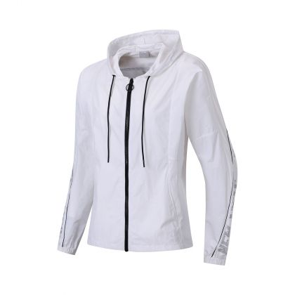Style Female Windbreaker, Standard White