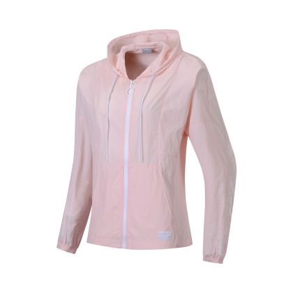 Style Female Windbreaker, Weak Pink