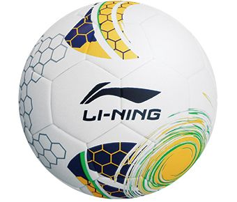 LN Football Unisex Match Pro Thermo Fooball, White/Neon Orange/Deep Sea Blue/Neon Green