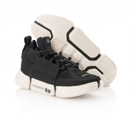 Female Basketball Culture Shoes, Standard Black