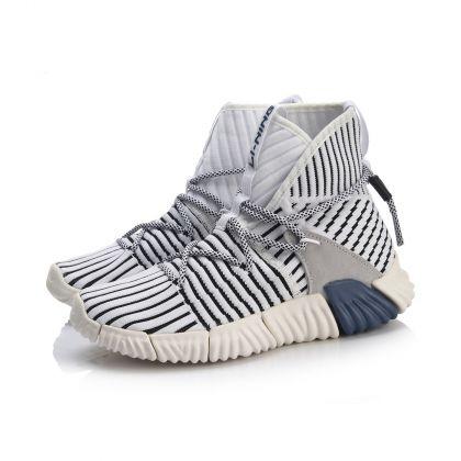 Stylish Female Streetwear Shoes, Standard White/Standard Black/Rice White