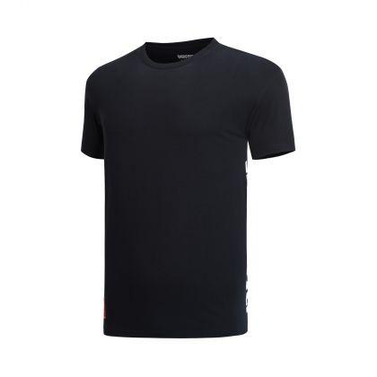 Basketball Culture Male S/S Tee, Standard Black