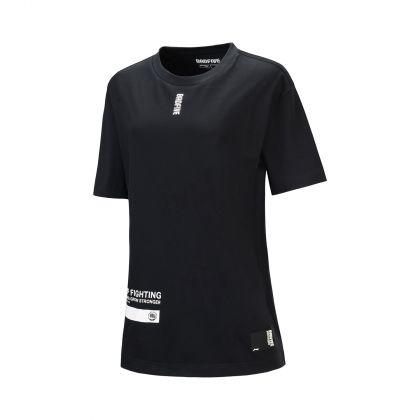 Basketball Culture Female S/S Tee, Standard Black