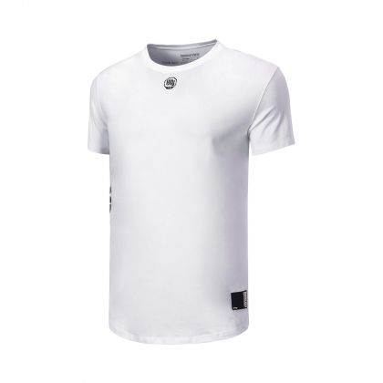 Basketball Culture Male S/S Tee, Standard White
