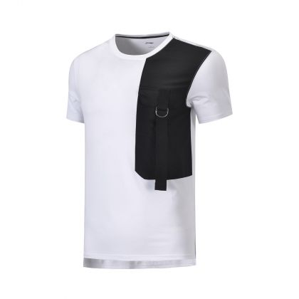 Style Male S/S Tee, Standard White