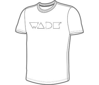 Wade Male S/S Tee, Standard White