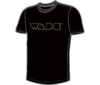Wade Male S/S Tee, Standard Black