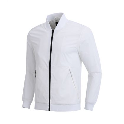 Wade Signature Male Jacket, Standard White