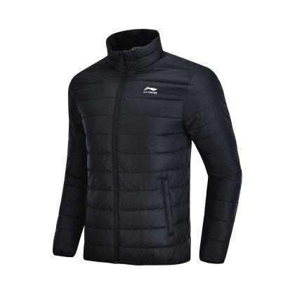 LN DNA Male Short Padded Jacket, Standard Black
