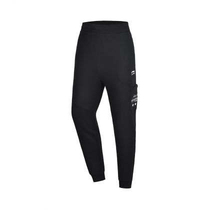 LN DNA Male Sweat Pants, Standard Black