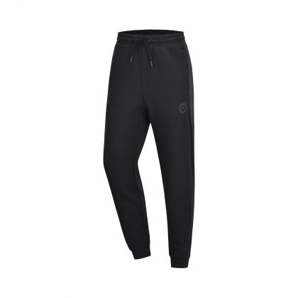 Wade Male Sweat Pants, Standard Black