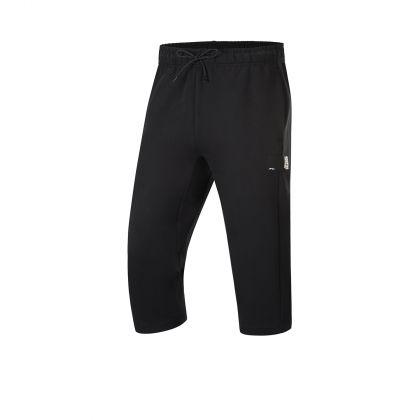 Basketball Culture Male 3/4 Sweat Pants, Standard Black