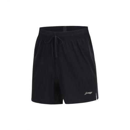 Hobby Runners Male Track Shorts, Standard Black