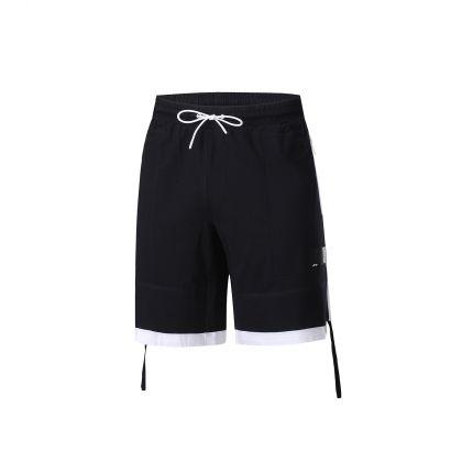 Basketball Culture Male Sweat Shorts, Standard Black