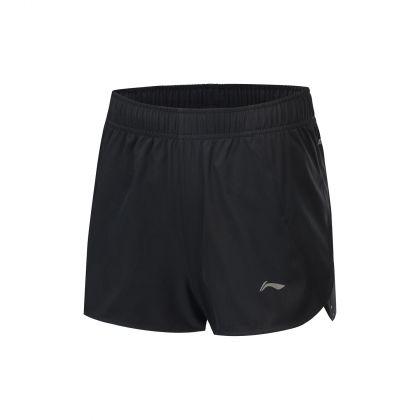 Hobby Runners Female Track Shorts, Standard Black