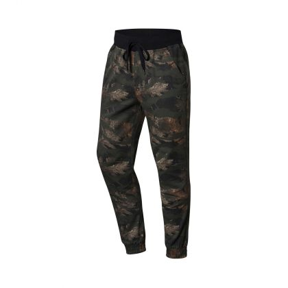 Basketball Culture Male Casual Pants, Black-Green Gradient