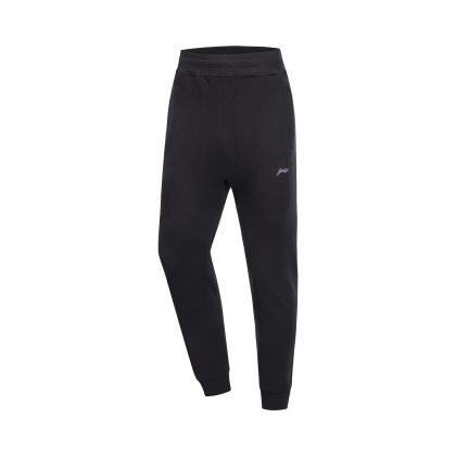Hobby Runners Male Knit Sports Pants, Standard Black