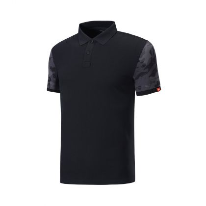 Swagger Male S/S Polo, Standard Black
