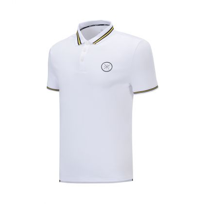 Wade Signature Male S/S Polo, Standard White