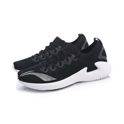 Female Light-Weight Running Shoes, Standard Black/Standard White