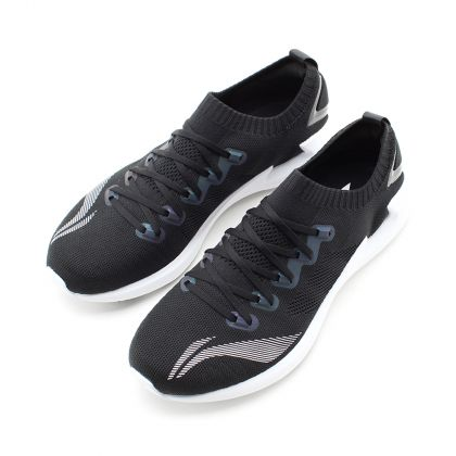 Male Light-Weight Running Shoes, Standard Black/Standard White