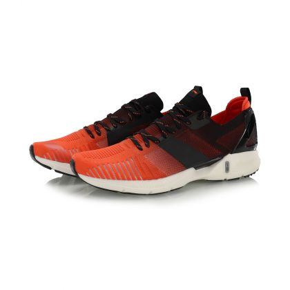 Male Light-weight Running Shoes, Bright Eggplant Red/Standard Black