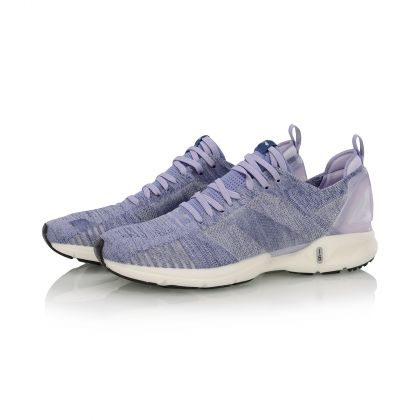 Female Light-weight Running Shoes, Grass Purple/Bad Five Purple
