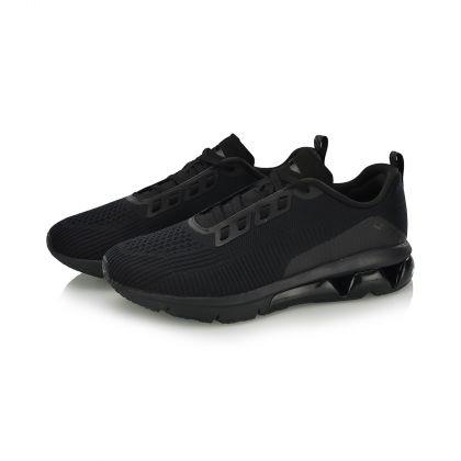 Female Cushion Running Shoes, Standard Black