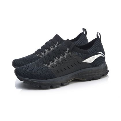 Male Stability Running Shoes, Standard Black/Sandal Black