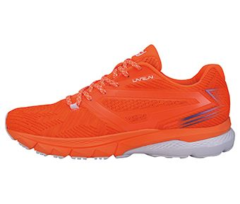 Female Stability Running Shoes, Flashing Orange/Flame Orange